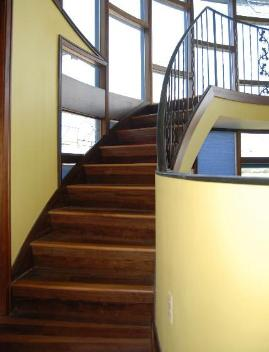 Home Team Flooring hardwood spiral stairs